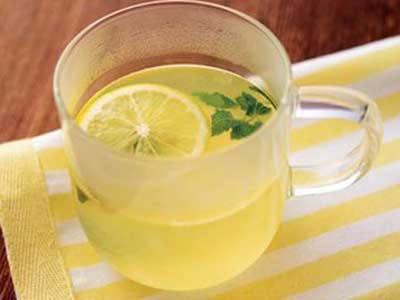 柠檬蜂蜜水图片