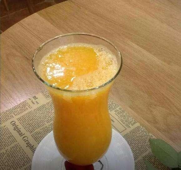 蜂蜜鲜橙汁图片
