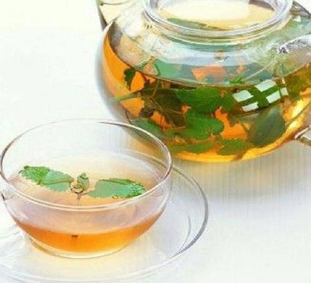 蜂蜜薄荷茶图片
