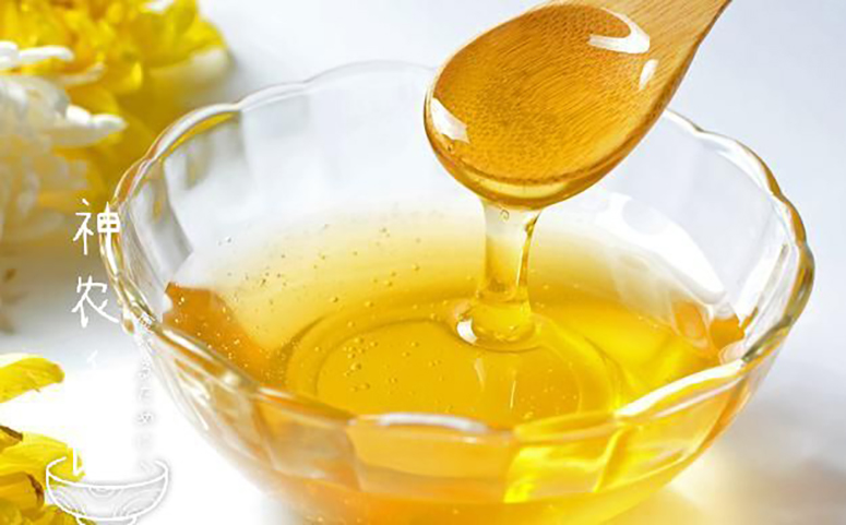 油菜花蜂蜜的作用与功效图片