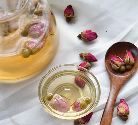 蜂蜜玫瑰花茶图片