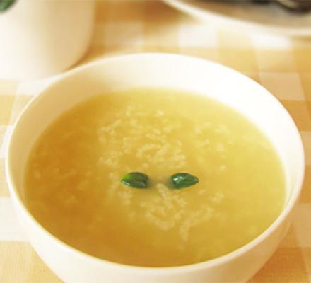 玉米须蜂蜜粥图片