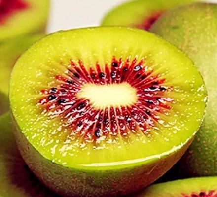 天然红心猕猴桃鲜果图片