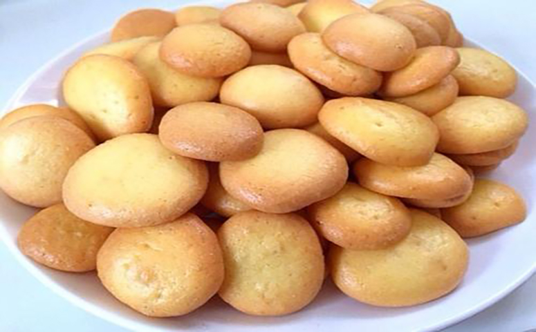 蜂蜜鸡蛋小饼干的成品图片介绍