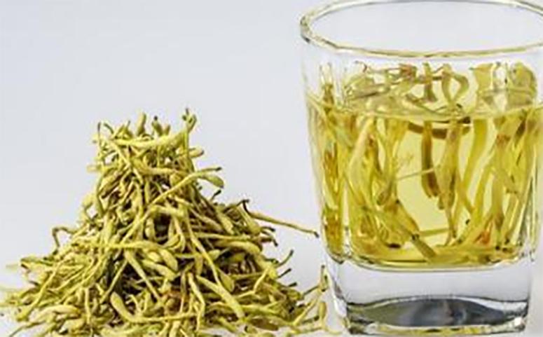 蜂蜜金银花茶护肝养胃解酒的作用图片