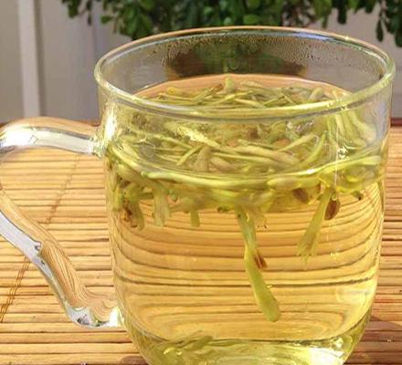 蜂蜜金银花茶