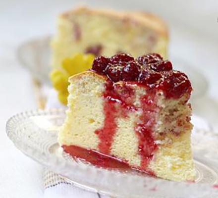 覆盆子冻芝士蛋糕