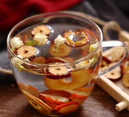 山楂红枣蜂蜜茶图片