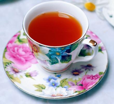 陈皮山楂茶图片