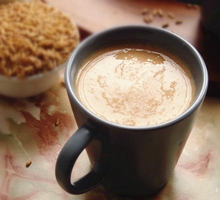 燕麦山楂奶昔图片