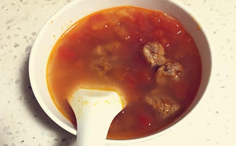 葛根番茄牛肉汤做法介绍图片