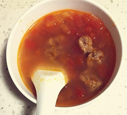 葛根番茄牛肉汤图片