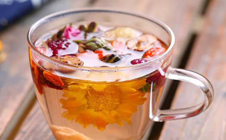 山楂玫瑰花茶的功效与作用图片