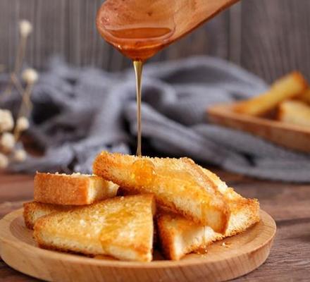 蜂蜜土司片做法图片
