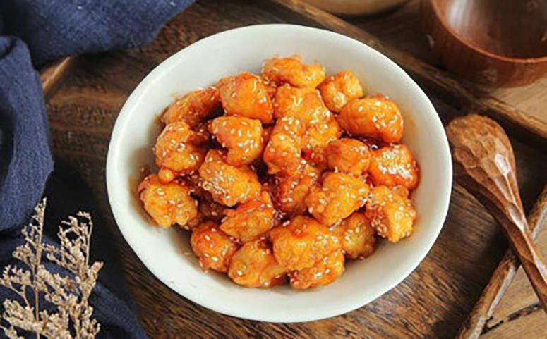 蜂蜜鸡块成品介绍图片