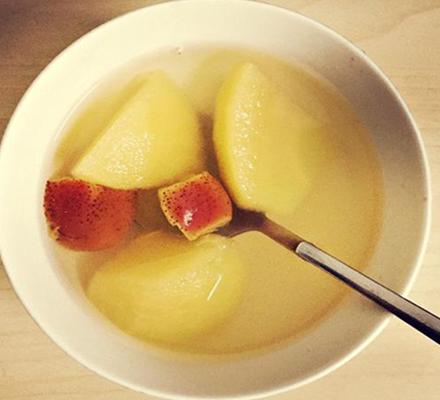 蜂蜜苹果汤图片