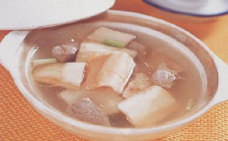 葛根猪肉汤图片