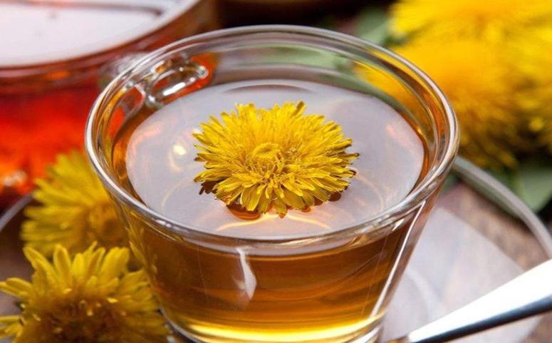 蒲公英蜂蜜水图片
