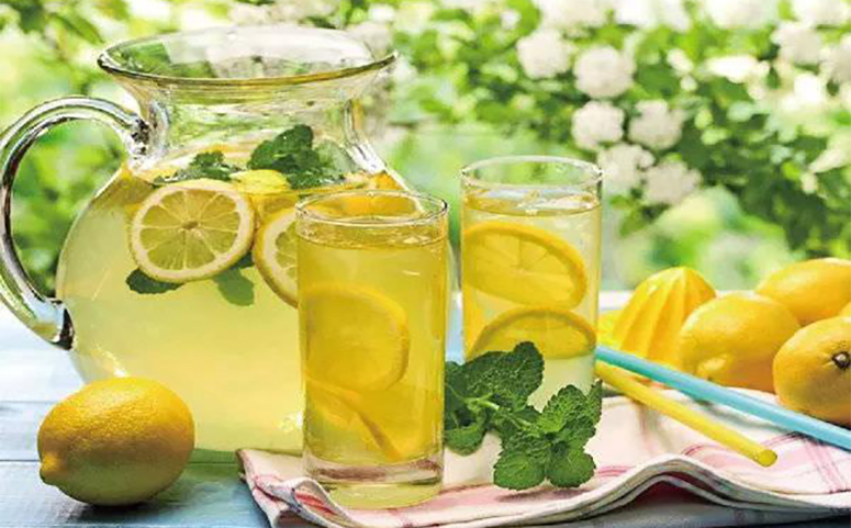 蜂蜜柠檬水图片